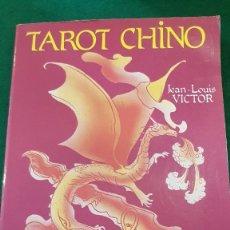 Libros de segunda mano: TAROT CHINO - JEAN-LOUIS VICTOR. Lote 123581867