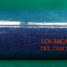 Libros de segunda mano: LOS ARCANOS MAYORES DEL TAROT. INTRODUCCIÓN:HANS URS VON BALTHASAR. EDICIÓN DE 1987. TELA EDITORIAL.. Lote 125323167