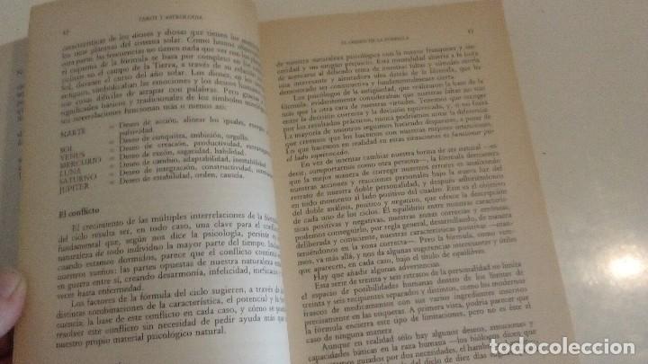 Libros de segunda mano: TAROT Y ASTROLOGIA COMO CONOCER EL DESTINO - LA TABLA ESMERALDA POR MURIEL BRUCE HASHRONCK - Foto 4 - 126370147