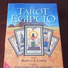 Libros de segunda mano: EL TAROT EGIPCIO, LIBRO Y BARAJA. Lote 126690531