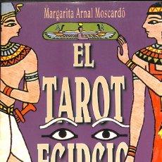 Libros de segunda mano: EL TAROT EGIPCIO ( LIBRO) - MARGARITA ARNAL. Lote 127138591