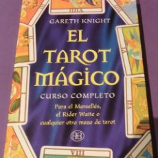 Libros de segunda mano: EL TAROT MÁGICO - GARETH KNIGHT (LIBRO NUEVO). Lote 128128447