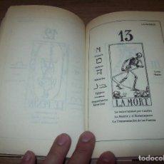 Libros de segunda mano: EL TAROT ADIVINATORIO. PAPUS. ED. TEOREMA . 1ª EDICIÓN 1984. DIBUJOS DE GABRIEL GOULINAT. VER FOTOS. Lote 128679267