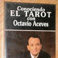 Libros de segunda mano: CONOCIENDO EL TAROT POR OCTAVIO ACEVES DE ED. EDAF EN MADRID 1993 . Lote 129220959