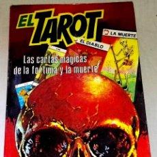 Libros de segunda mano: EL TAROT, LAS CARTAS MÁGICAS DE LA FORTUNA Y LA MUERTE; JOSS IRISCH - PRODUCCIONES EDITORIALES 1980. Lote 129267011