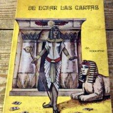 Libros de segunda mano: DR. MOORNE: - EL SUPREMO ARTE DE ECHAR LAS CARTAS - (MEXICO, 1975). Lote 132672394