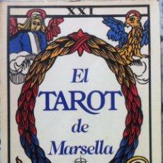 Libros de segunda mano: PAUL MARFEAU. EL TAROT DE MARSELLA. 1988. Lote 139681278