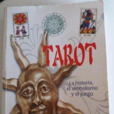 Libros de segunda mano: TAROT. LA HISTORIA, EL SIMBOLISMO Y EL JUEGO - MELDI, DIEGO. Lote 139687698