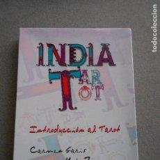 Libros de segunda mano: INDIA TAROT. INTRODUCCION AL TAROT. . Lote 140913446
