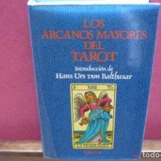 Libros de segunda mano: LOS ARCANOS MAYORES DEL TAROT. EDITORIAL HERDER, 1987.. Lote 144121474
