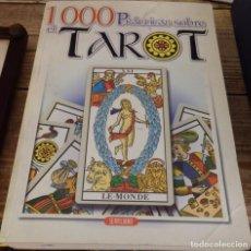 Libros de segunda mano: 1000 PRACTICAS SOBRE EL TAROT - ANTONIA REDONDELA-DECKNAME - SERVILIBRO EDICIONES. Lote 144459298
