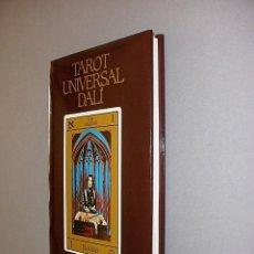 Libros de segunda mano: TAROT UNIVERSAL DALI ED. MEDITERRANEA 1985 ILUSTRACIONES SALVADOR DALI 1ª EDICION NUEVO. Lote 145467557