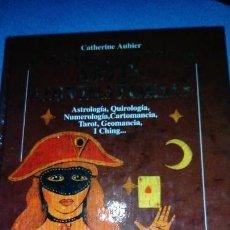 Libros de segunda mano: CATHERINE AUBIER. EL GRAN LIBRO DE LAS ARTES ADIVINATORIAS. Lote 146102774