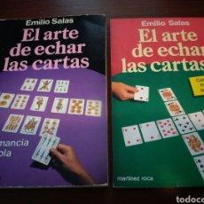 Libros de segunda mano: EL ARTE DE ECHAR LAS CARTAS 1 Y 2. EMILIO SALAS. Lote 147042192