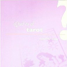 Libros de segunda mano: ¿QUÉ ES EL TAROT? CELIA T. FERNÁNDEZ. Lote 147355974