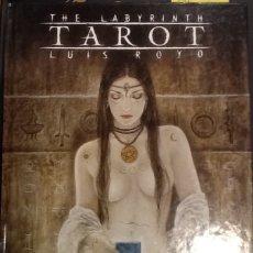 Libros de segunda mano: THE LABYRINTH TAROT - LUIS ROYO (ILUSTRADO). Lote 147493238