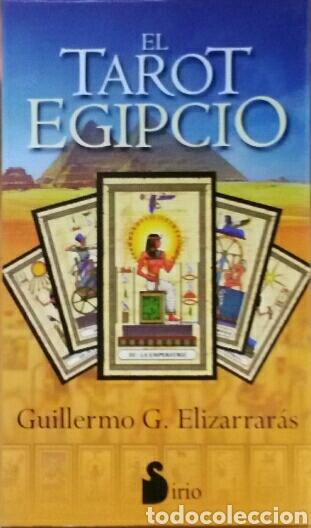 TAROT EGIPCIO. CARTAS + LIBRO. MARTINA J. GABLER & GUILLERMO G. ELIZARRARÁS. (Libros de Segunda Mano - Parapsicología y Esoterismo - Tarot)