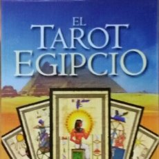 Libros de segunda mano: TAROT EGIPCIO. CARTAS + LIBRO. MARTINA J. GABLER & GUILLERMO G. ELIZARRARÁS.. Lote 147860282