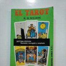 Livres d'occasion: EL TAROT PRÁCTICO Y ESOTÉRICO. - WILSON, REGINAL H. TDK361. Lote 150791810