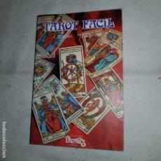 Libros de segunda mano: TAROT FACIL - CAUDET Y LLORENS- 1989. Lote 152310582