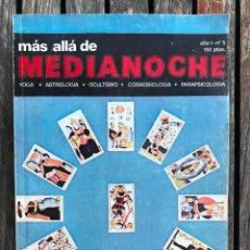 Livros em segunda mão: MÁS ALLÁ DE MEDIANOCHE Nº 5, AÑO 1. EL TAROT. RIEGO EDICIONES, AÑO 1980. VER FOTOS. Lote 152516634