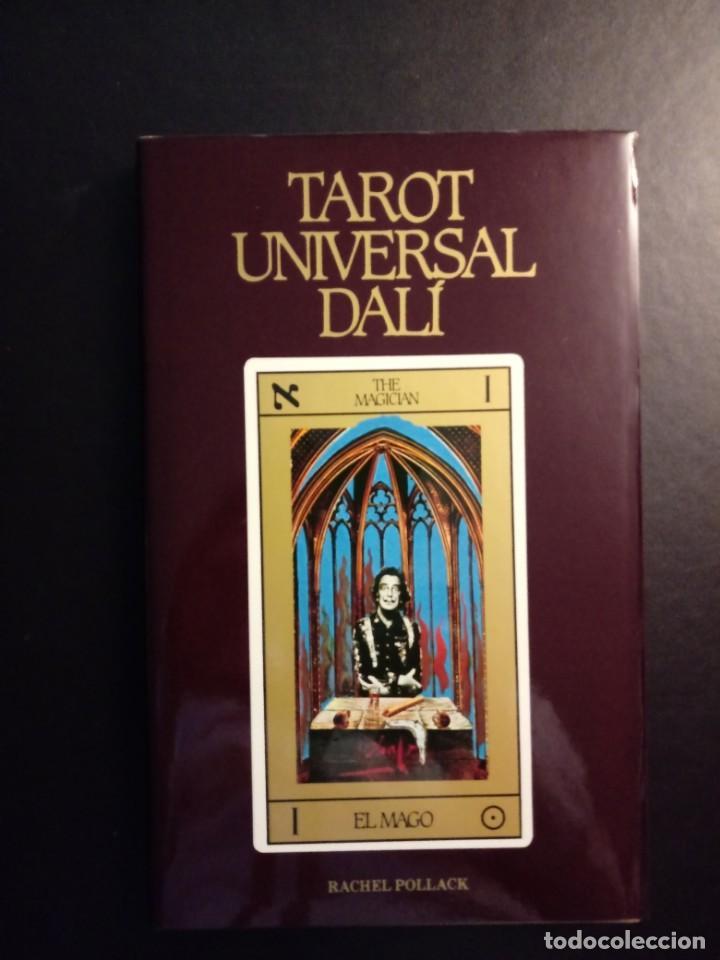 LIBRO TAROT UNIVERSAL 1985 ILUSTRACIONES SALVADOR DALI. 1ª EDICION. NUEVO (Libros de Segunda Mano - Parapsicología y Esoterismo - Tarot)