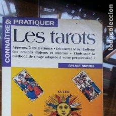 Libros de segunda mano: LES TAROTS, SYLVIE SIMON. Lote 154438230