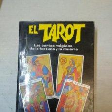 Libros de segunda mano: EL TAROT. LAS CARTAS MAGICAS DE LA FORTUNA Y DE LA MUERTE.JOSS IRISH. Lote 154723354