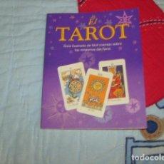 Libros de segunda mano: EL TAROT . GUIA ILUSTRADA DE FACIL MANEJO SOBRE LOS MISTERIOS DEL TAROT. Lote 154840470
