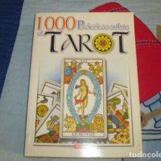Libros de segunda mano: 1.000 PRACTICAS SOBRE EL TAROT , SERVILIBRO. Lote 154844662