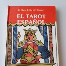 Libros de segunda mano: EL TAROT ESPAÑOL. Lote 155497618