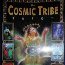 Libros de segunda mano: THE COSMIC TRIBE TAROT. STEVEE POSTMAN. TEXTO EN INGLES DE ERIC GANTHER. Lote 155761510