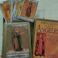 Libros de segunda mano: ORACULO DE LOS ANGELES - AMBIKA WAUTERS - ED. E.D.A.F. - AÑO 1996. Lote 138042450