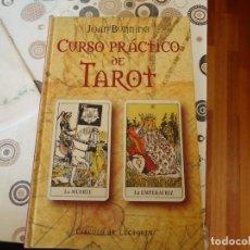 Libros de segunda mano: CURSO PRACTICO DE TAROT. Lote 162130498