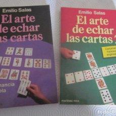 Libri di seconda mano: 2 LIBROS EL ARTE DE ECHAR LAS CARTAS Nº1 Y Nº2. Lote 212955807