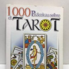 Livres d'occasion: LIBRO - 1000 PRACTICAS SOBRE EL TAROT - ED. SERVILIBRO. Lote 163390406