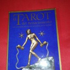 Libros de segunda mano: EL TAROT DEL RENACIMIENTO. LIBRO EDITORIAL SIRIO.. Lote 163791006