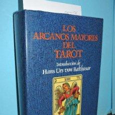 Libros de segunda mano: LOS ARCANOS MAYORES DEL TAROT: MEDITACIONES. INTRODUCCIÓN DE HANS URS VON BALTHASAR. ED. HERDER. Lote 166610330