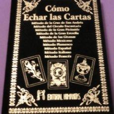 Libros de segunda mano: CÓMO ECHAR LAS CARTAS - EDITORIAL HUMANITAS (TOTALMENTE NUEVO) ACABADO COMPRAR. Lote 167803212