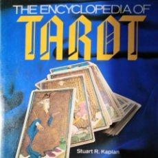 Libros de segunda mano: ENCYCLOPEDIA OF TAROT STUART R. KAPLAN VOL. I 1985. Lote 176486759