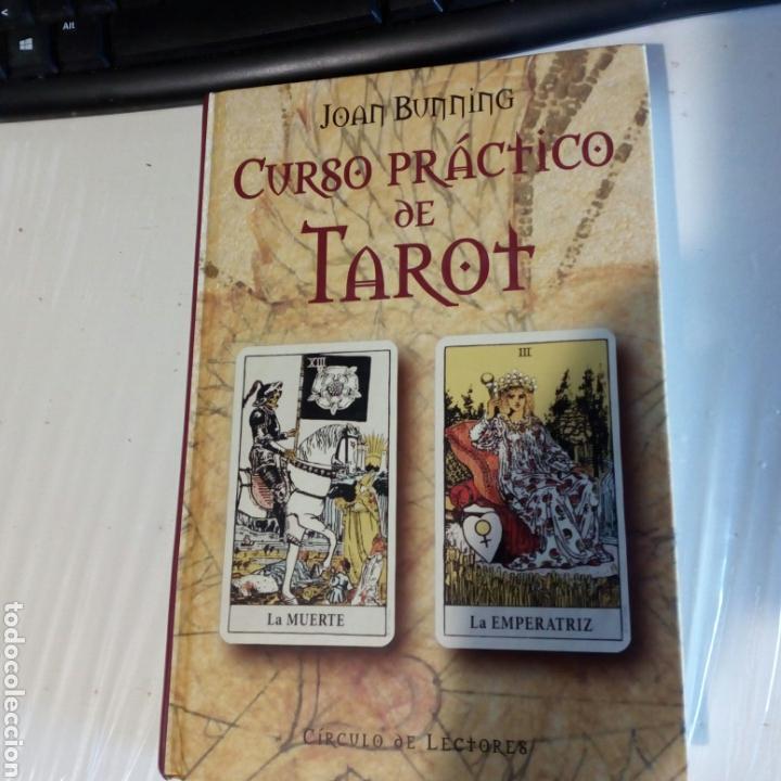 LIBRO CURSO PRÁCTICO DEL TAROT. MUY BUEN ESTADO. (Libros de Segunda Mano - Parapsicología y Esoterismo - Tarot)