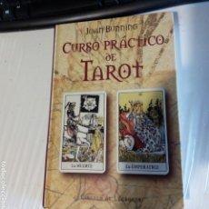Libros de segunda mano: LIBRO CURSO PRÁCTICO DEL TAROT. MUY BUEN ESTADO.. Lote 168852602