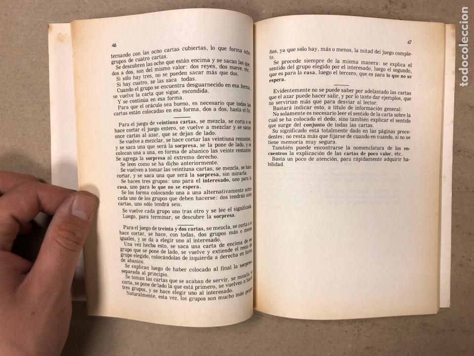 Libros de segunda mano: EL FUTURO REVELADO POR LAS CARTAS. JEAN DESTIN. COLECCIÓN ALQUIMIA. EDICIONES ESOTÉRICAS 1974 - Foto 5 - 168860698