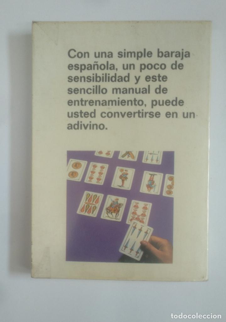 Libros de segunda mano: El arte de echar las cartas. Cartomancia española. Emilio Salas. Martinez Roca. TDK389 - Foto 2 - 170207404
