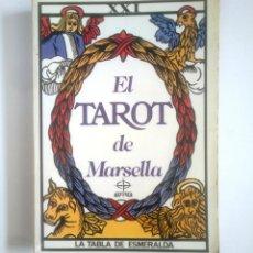 Libros de segunda mano: EL TAROT DE MARSELLA. LA TABLA DE ESMERALDA. PAUL MARTEU. TDK389. Lote 170208048