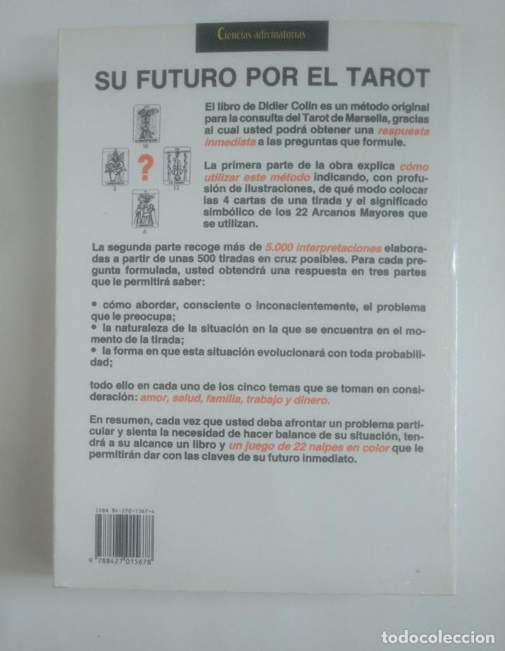 Libros de segunda mano: EL GRAN LIBRO PRACTICO DEL TAROT-. DIDIER COLIN -. MARTINEZ ROCA. TDK389 - Foto 2 - 170209444