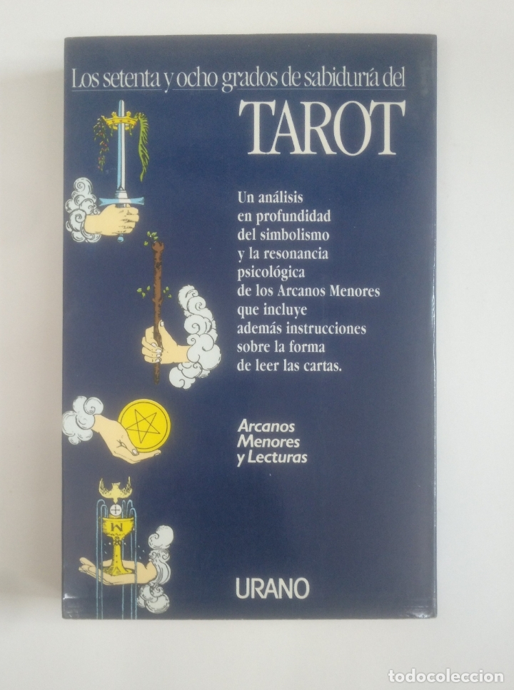 Libros de segunda mano: TAROT LOS SETENTA Y OCHO GRADOS DE SABIDURIA. RACHEL POLLACK. TDK389 - Foto 2 - 170210744