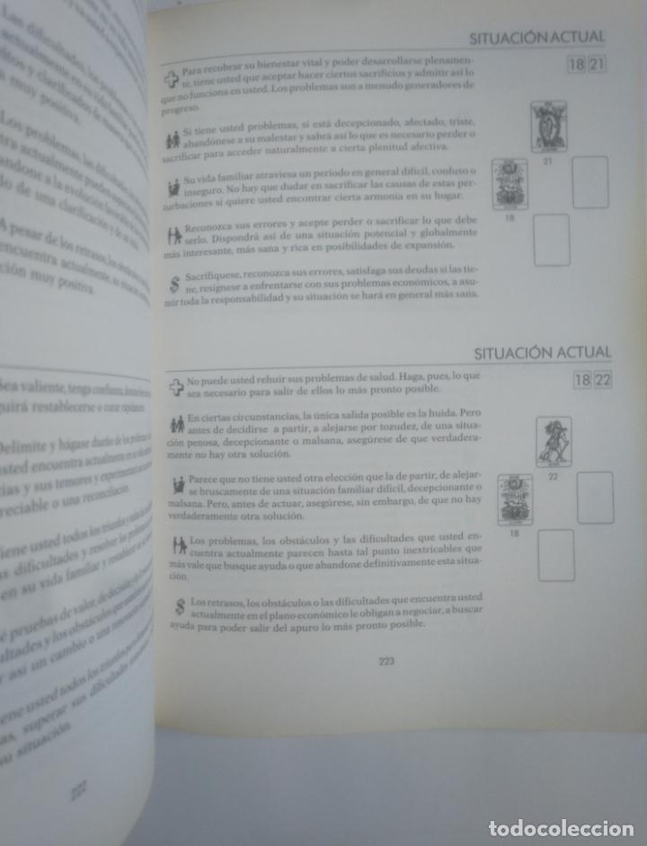 Libros de segunda mano: EL GRAN LIBRO PRACTICO DEL TAROT. DIDIER COLIN -. MARTINEZ ROCA. TDK388 - Foto 4 - 170299976