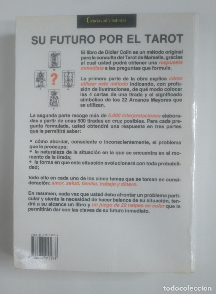 Libros de segunda mano: EL GRAN LIBRO PRACTICO DEL TAROT. DIDIER COLIN -. MARTINEZ ROCA. TDK388 - Foto 5 - 170299976