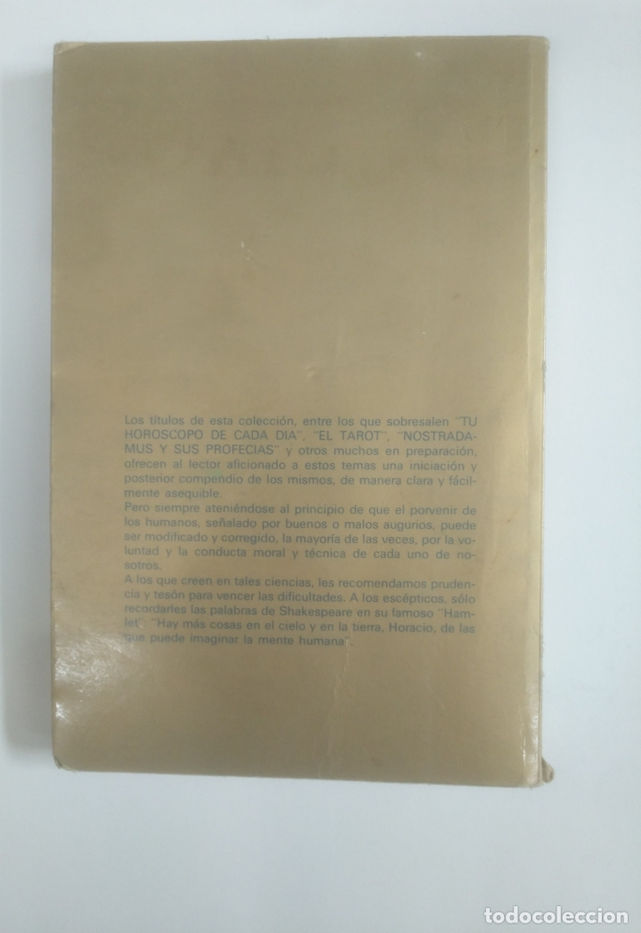 Libros de segunda mano: El Tarot - Ellery Ling. Vilmar ediciones, colección Astral. TDK388 - Foto 2 - 170303192